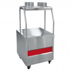 Прилавок для столовых приборов ПСП-70ПМ