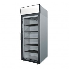 Холодильный шкаф polair DM107-G (ШХ-0.7 ДC   (нерж))