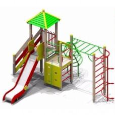 Детский игровой комплекс для старшей возрастной группы №4
