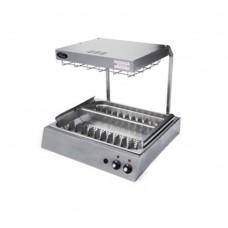 Станция для подогрева и фасовки картофеля фри  Grill Master Ф2ПКЭк с керамическим нагревом