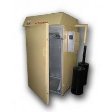 Камера термодымовая КТОМИ-100 (загрузка 200 кг) (нержавейка внутри с тележкой)