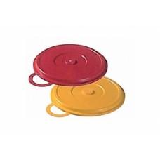 Пластиковая крышка с ручкой на тарелку для главного блюда