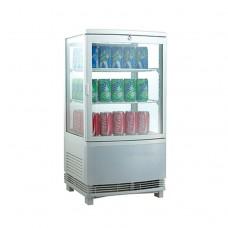 Витрина холодильная Koreco RT58L2R серебро