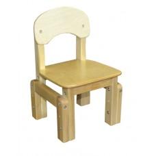 Детский стул Эко (регулируемый, массив березы)