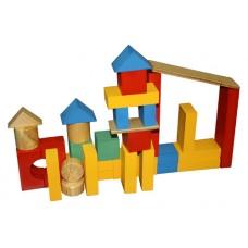 Детский конструктор Замок (дерево)