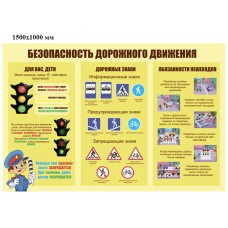 Стенд Правила  Дорожного Движения - 012