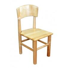 Детский стульчик Кузя (дерево, береза)